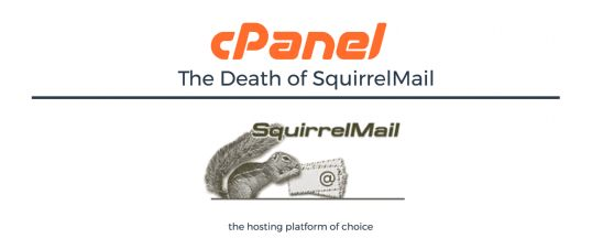 Withdrawal of SquirrelMail Webmail