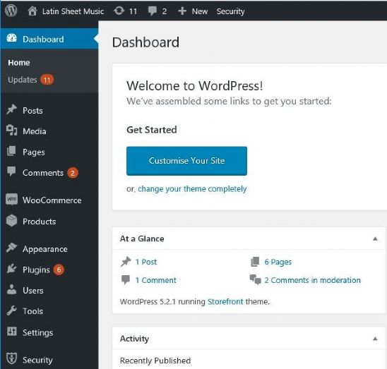 WordPress - The Easy Way to Create Your Website